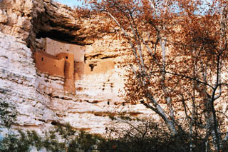 Montezuma's Castle (Photo by Larry D. Fellows, courtesy of the Arizona Office of Tourism)