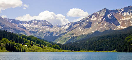 Rainbow Lake near Telluride (Photo by Matt Inden/Miles, courtesy of the Colorado Tourism Office)