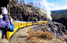 Durango and Silverton Narrow Gauge Railroad (Photo by Matt Inden/Miles, courtesy of the Colorado Tourism Office)
