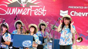 Swing Dolphins perform at Satchmo SummerFest