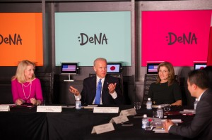 Vice President Biden participates in a roundtable discussion at DeNA