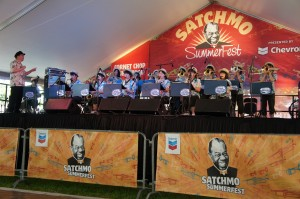 Swing Dolphins at Satchmo Summer Fest