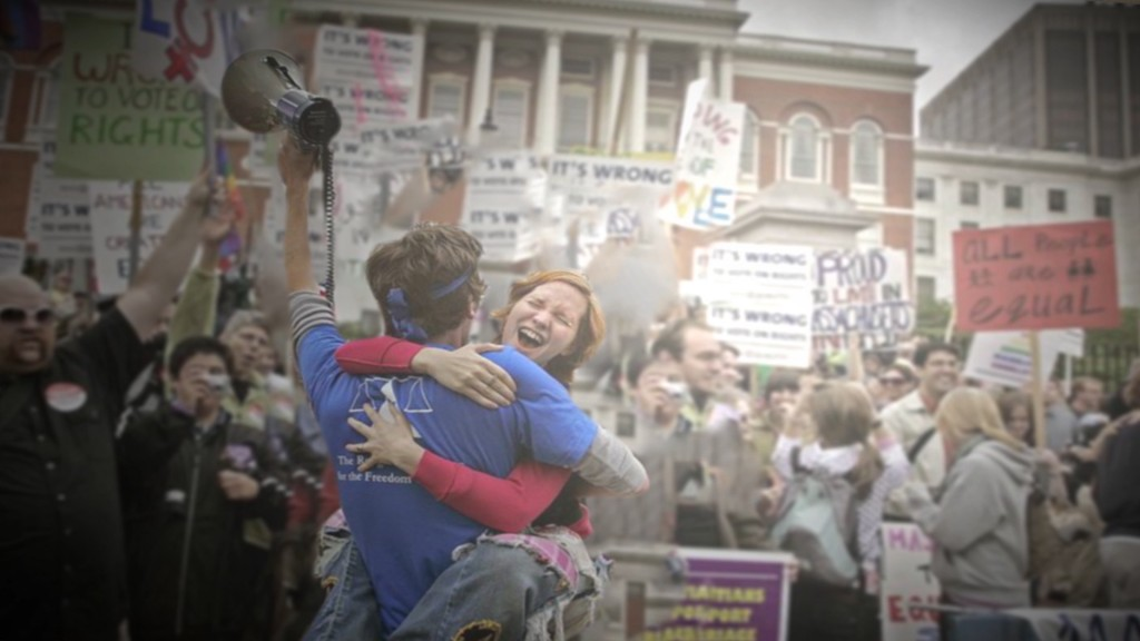 A happy clip from Freedom to Marry's 7/9/15 VictoryCelebration award-winning video, created by Eyepop Productions.