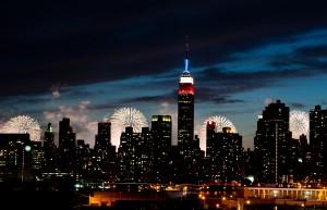Fireworks in NY
