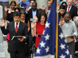 the Oath of Allegiance