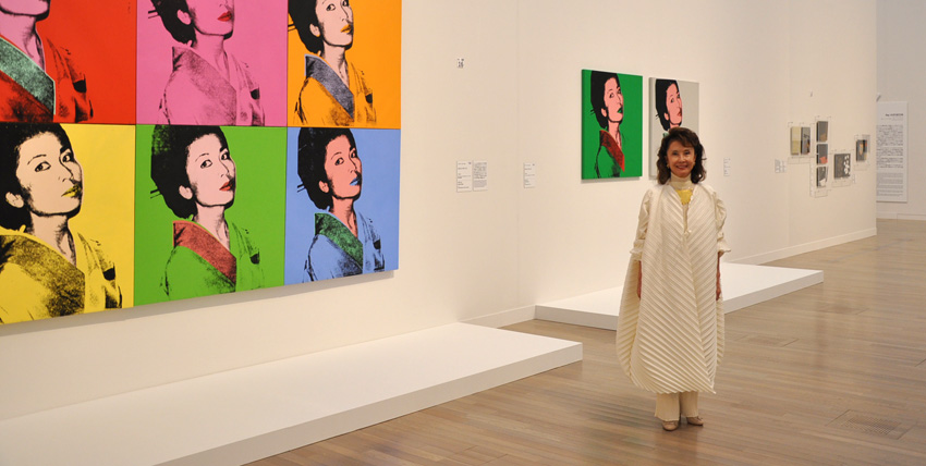 american pop art and Kimiko Powers