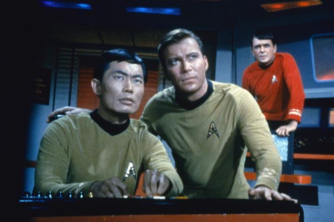 """Star Trek"" ヒカル・スールー役を演じるジョージ・タケイ氏 (Courtesy of Paramount Picture)"