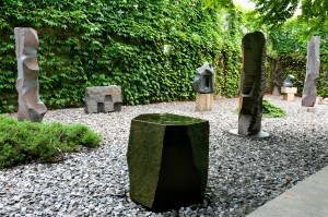 The Isamu Noguchi Foundation and Garden Museum, garden