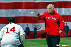 ted kennedy first pitch