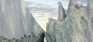 2007年8月のグリーランドの氷山 (Extreme Ice Survey/James Balog)