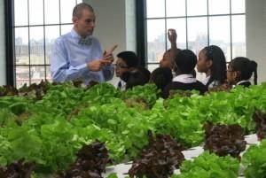 スティーブン・リッツは生徒が健康的な生活を送るようになっていると言う (Courtesy of Green Bronx Machine)
