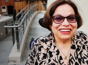 ジュディス・ヒューマンは30年以上にわたり、障害者の権利のために闘ってきた (D.A. Peterson/State Dept.)