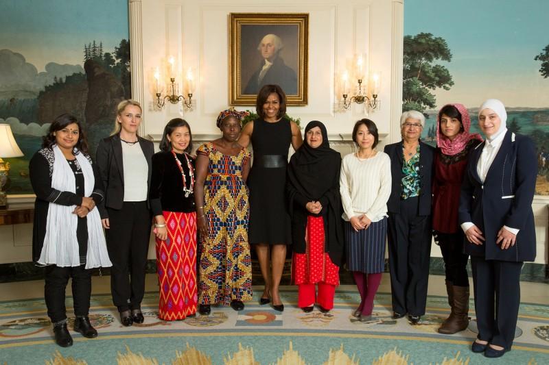 Photo of Osakabe-san at White House