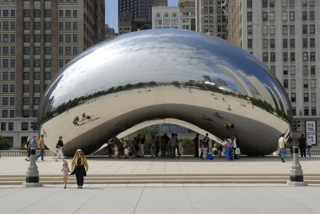 Chicago - Cloud Gate - 1280