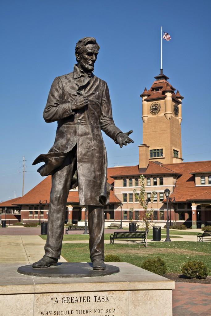 Springfield - Lincoln Statue 2 - 1280