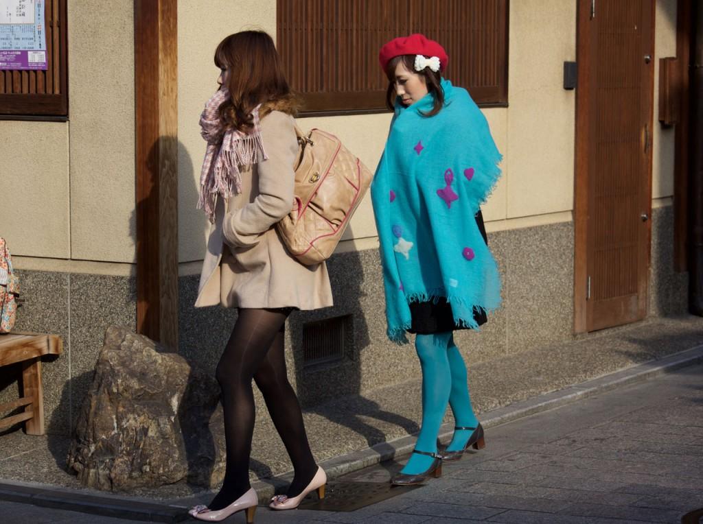 Fashionable women in Japan
