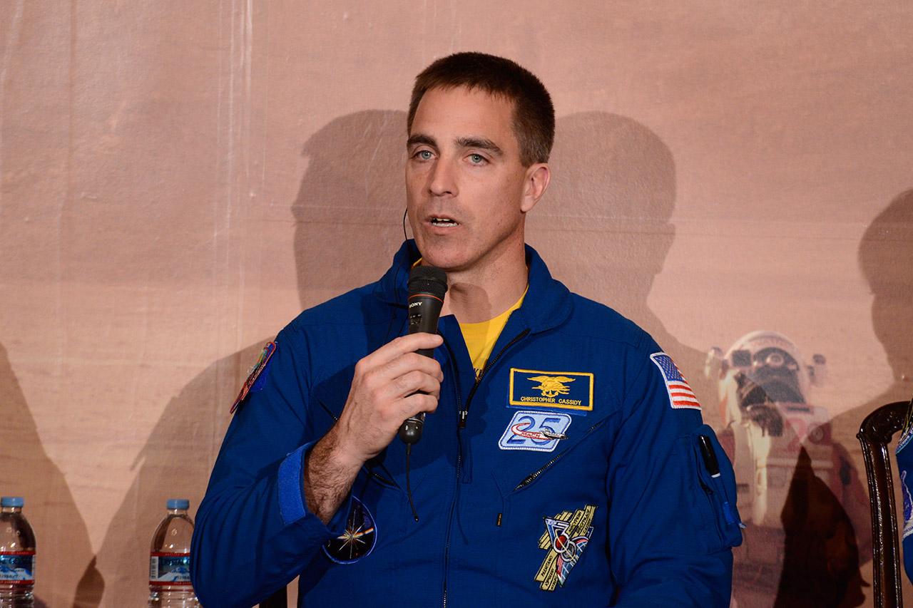 宇宙での体験から得た世界観について語るNASAキャシディ宇宙飛行士