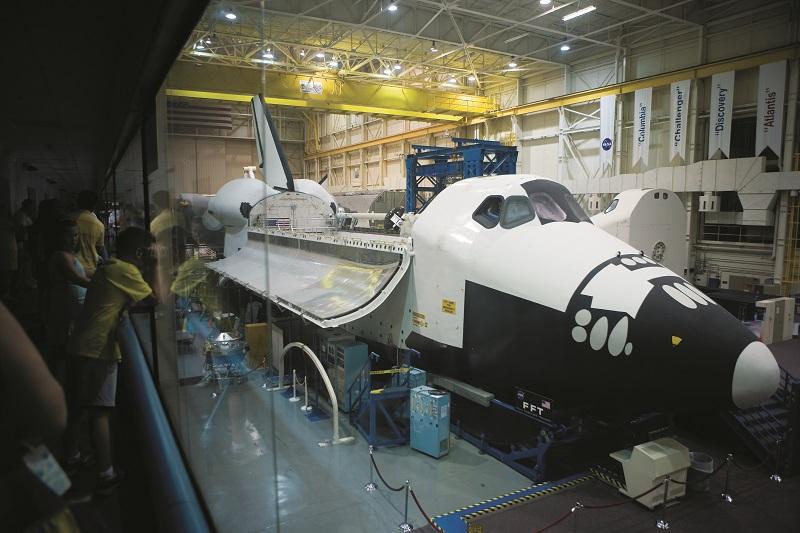 宇宙を学ぶことができる「スペース・センター・ヒューストン」