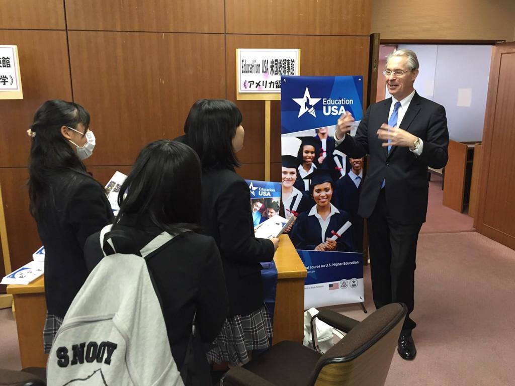 日本の学生の皆さんと日本語で交流しました