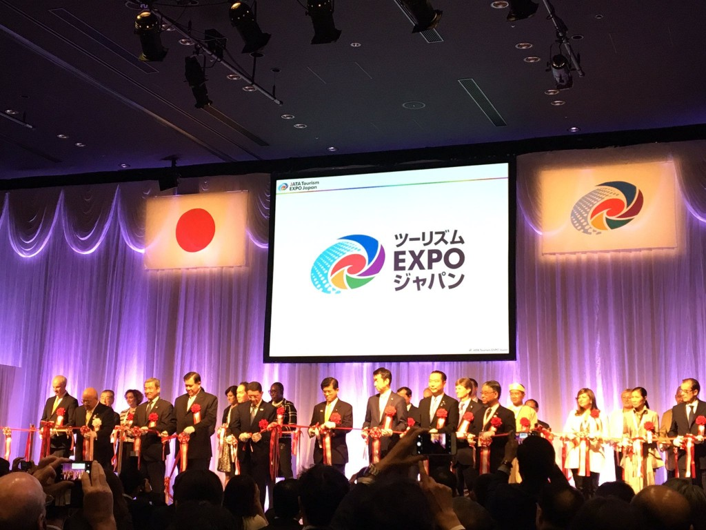 The Opening Ceremony for JATA Tourism EXPO Japan