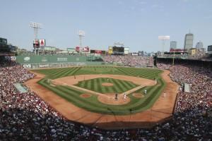 ボストン・レッドソックスの本拠地フェンウェイパーク(写真提供:マサチューセッツ州政府観光局)