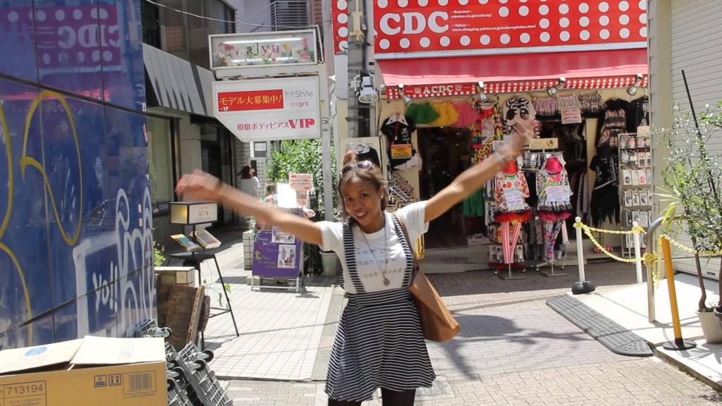Loretta Scott in Japan