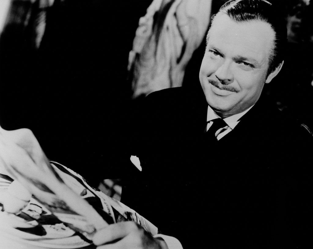 Orson Welles, the writer-director of Citizen Kane. (© AP Images)