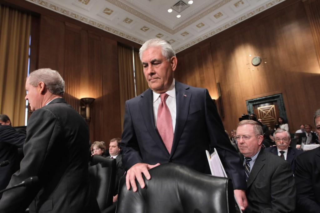 第69代米国務長官に承認されたレックス・ティラーソン。写真は2011年連邦議会を訪れたときのもの (© AP Images)