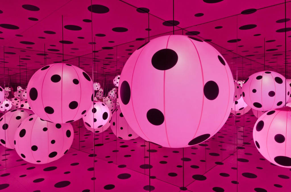 """Dots Obsession — Love Transformed into Dots"" (Hirshhorn Museum)"