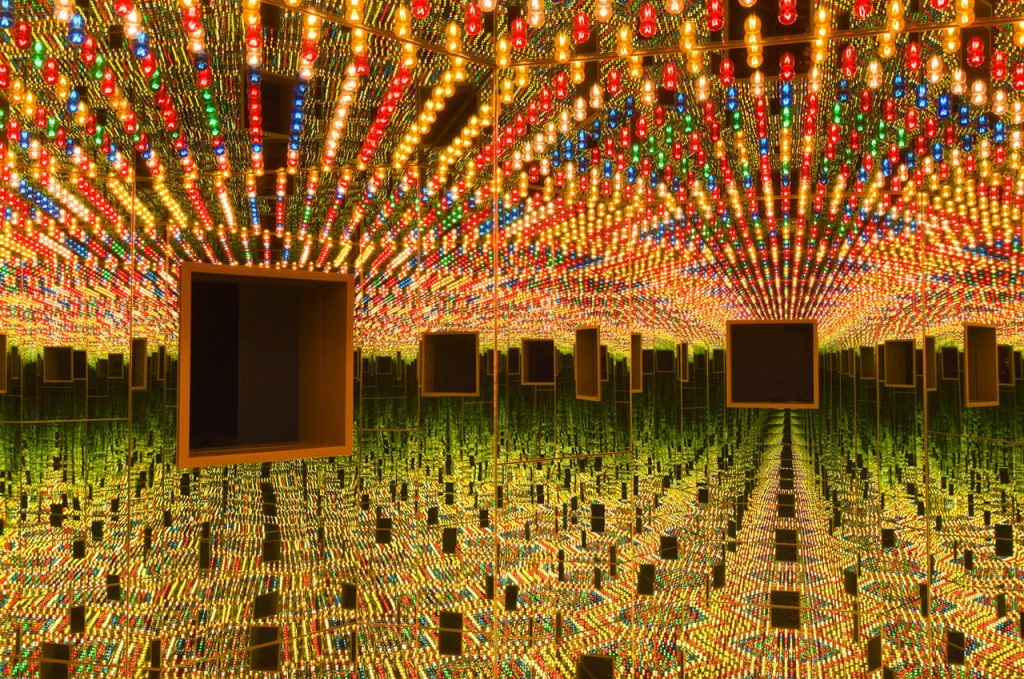 """Infinity Mirrored Room — Love Forever"" (Hirshhorn Museum)"