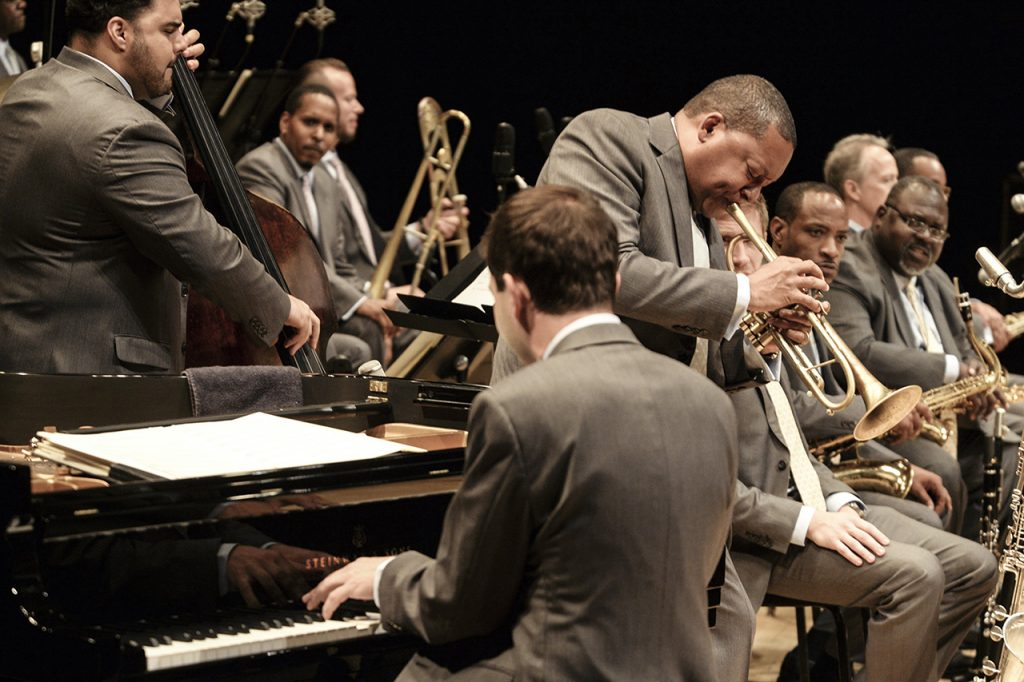 Wynton Marshalis and the Jazz at Lincoln Center Orchestra (Jazz at Lincoln Center/Frank Stewart)