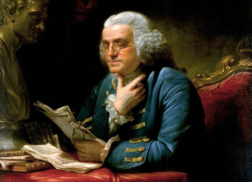 ベンジャミン・フランクリン (White House Historical Association)