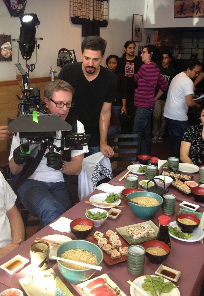 「イーストサイド・寿司」の製作現場