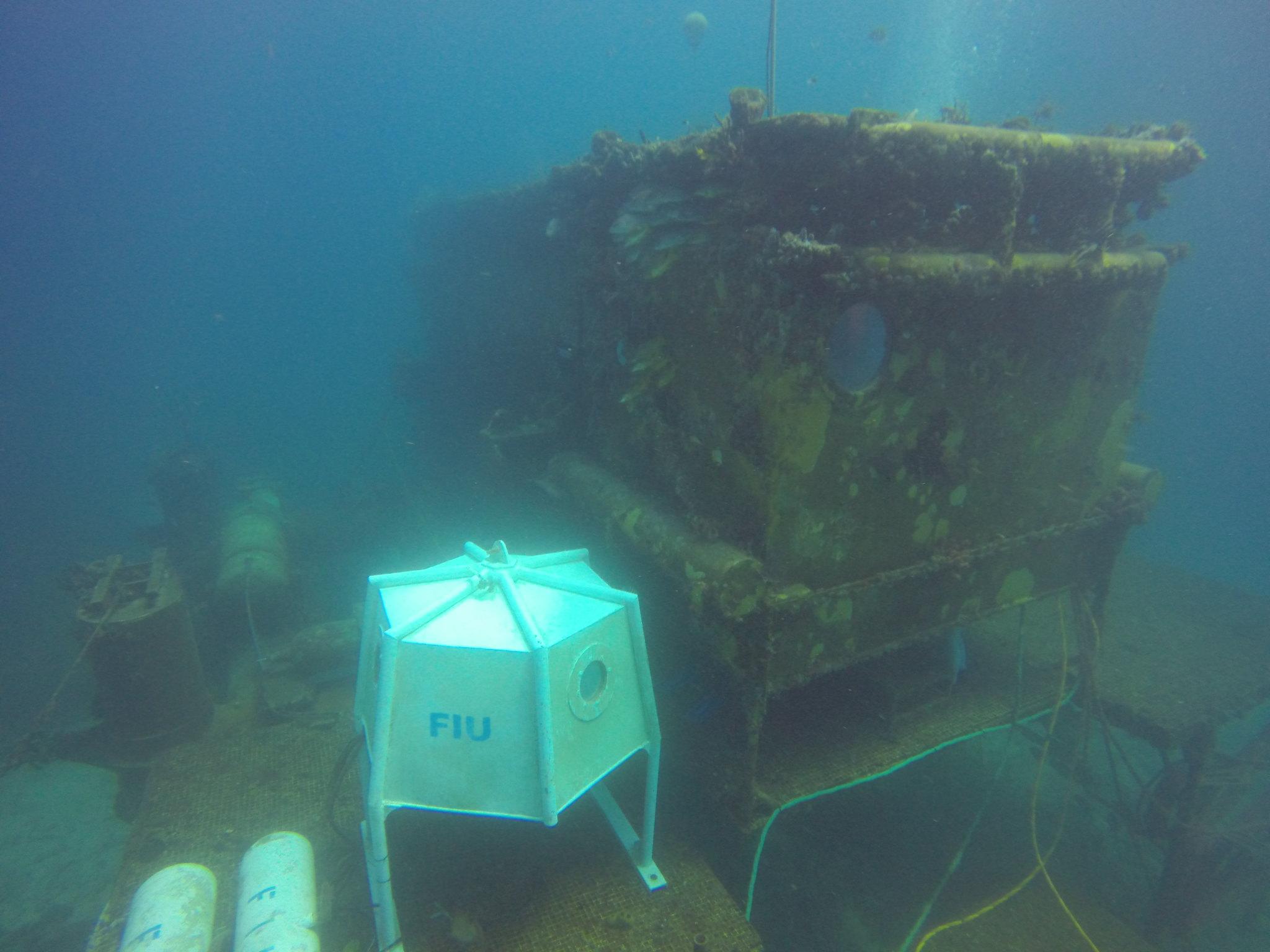 Aquarius habitat, home to the NEEMO 20 crew for 14 days (Photo courtesy of NASA)