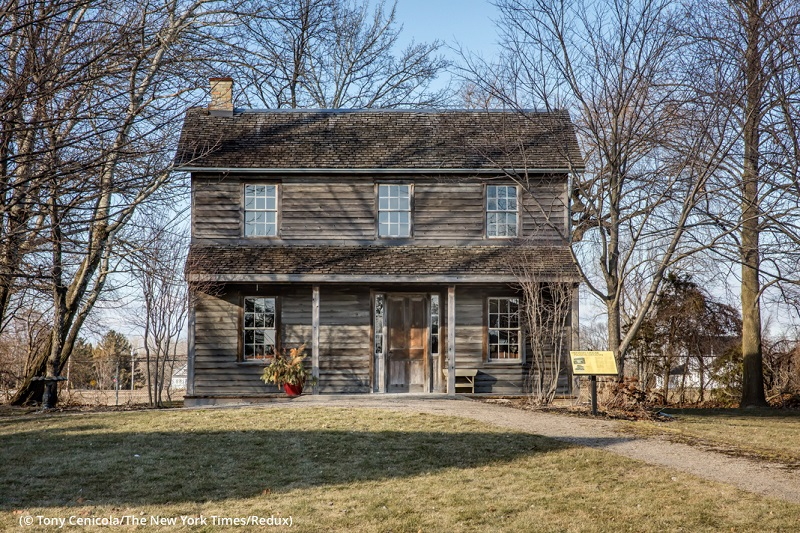 Uncle Tom's Cabin Historic Site and museum in Dresden, Canada, was built on the site of the black settlement Josiah Henson helped establish. (© Tony Cenicola/The New York Times/Redux)