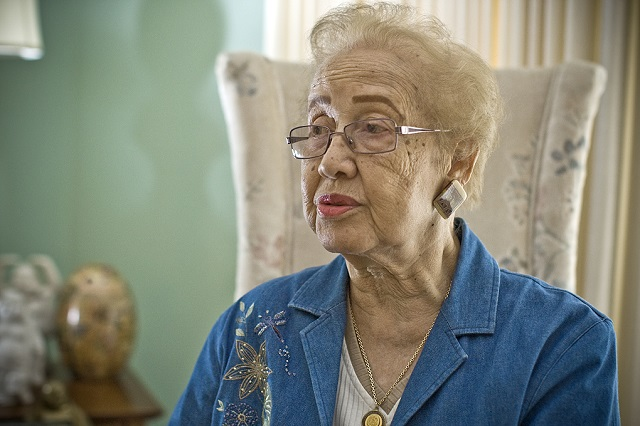 Katherine Johnson, 97, was instrumental in every major NASA space program from Mercury to the space shuttle. (NASA)