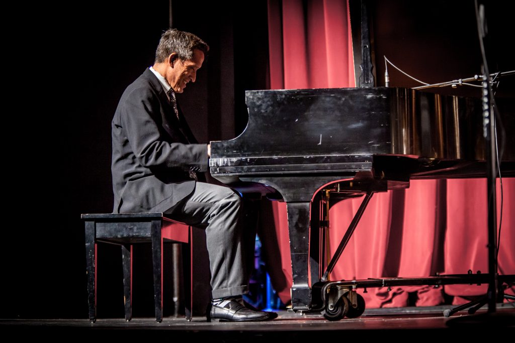 Dr. Jose Antonio Bowen at the piano.