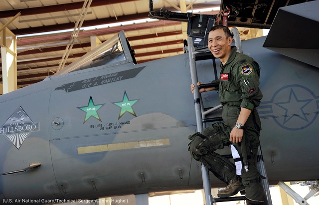 (U.S. Air National Guard/Technical Sergeant John Hughel)
