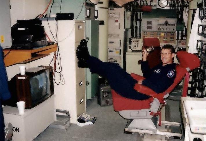 カリフォルニア州ヴァンデンバーグ空軍基地に勤務。サンタマリア・バーベキューとの出会いもこの頃(写真提供:ジョン・テイラー)
