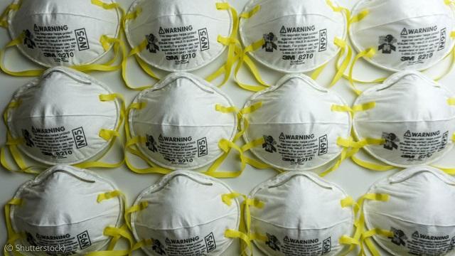新型コロナウイルスなど、空気中の粒子95%を効果的にろ過するN95マスク (© Shutterstock)