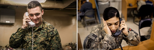 (Left to right: U.S. Marine Corps/Staff Sgt. Dengrier M. Baez and © Sebastian Meyer/Corbis/Getty Images)