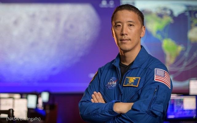 宇宙飛行士ジョナサン・キム博士。2020年9月8日、ヒューストンのNASAジョンソン宇宙センターにて (NASA/Bill Ingalls)