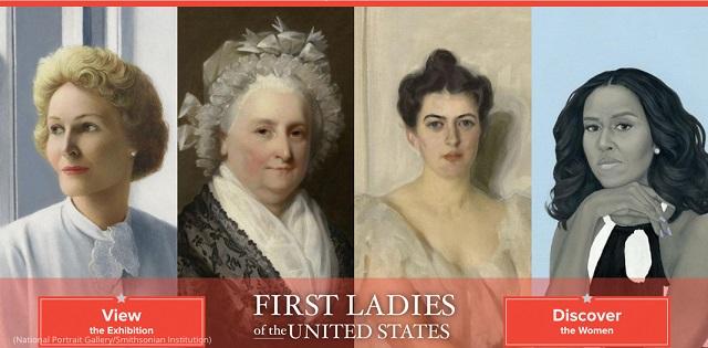 ナショナル・ポートレート・ギャラリーのオンライン展示「アメリカのファーストレディー」 (National Portrait Gallery/Smithsonian Institution)