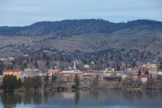 オレゴン州のブルーゾーン、クラマスフォールズ (© Dukas Presseagentur GmbH/Alamy)