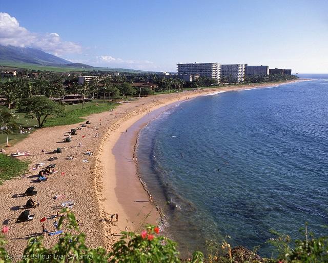 美しい海岸を誇るハワイ州には8つのブルーゾーンがある (© Greg Balfour Evans/Alamy)