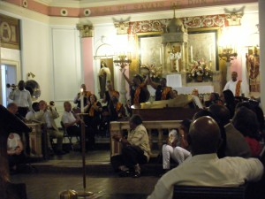 Jazz mass at Saint Augustine Catholic Church