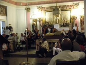 Jazz mass at Saint Augustine Catholic Church