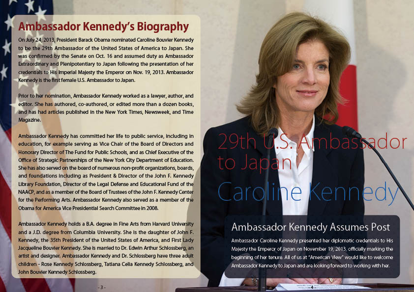 Bio of Amb. Kennedy